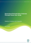 Queensland Perinatal Data Collection Perinatal Online User Guide