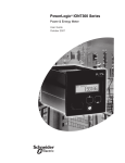 PowerLogic ION7300 Series User Guide