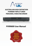 PVR9600 User Manual