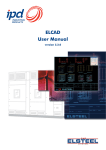 ELCAD User Manual