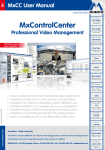 Mobotix MxControlCenter software