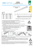 Installation manual VIP LED