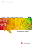 design, planning and installation manual