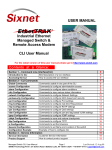 SIXTRAK user manual