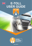 E-TOLL USER GUIDE