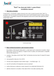 "Beril"" ion electronic boiler's control block installation manual"