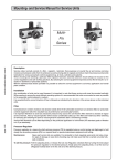 Mounting- and Service Manual for Service Units