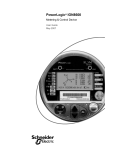 PowerLogic ION8600 User Guide - engineering site