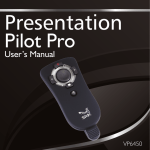 Presentation Pilot Pro User's Guide