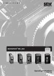 MOVIDRIVE® MD_60A Drive Inverters / Operating Instructions