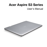 Acer Aspire S3-951 Owner's Manual
