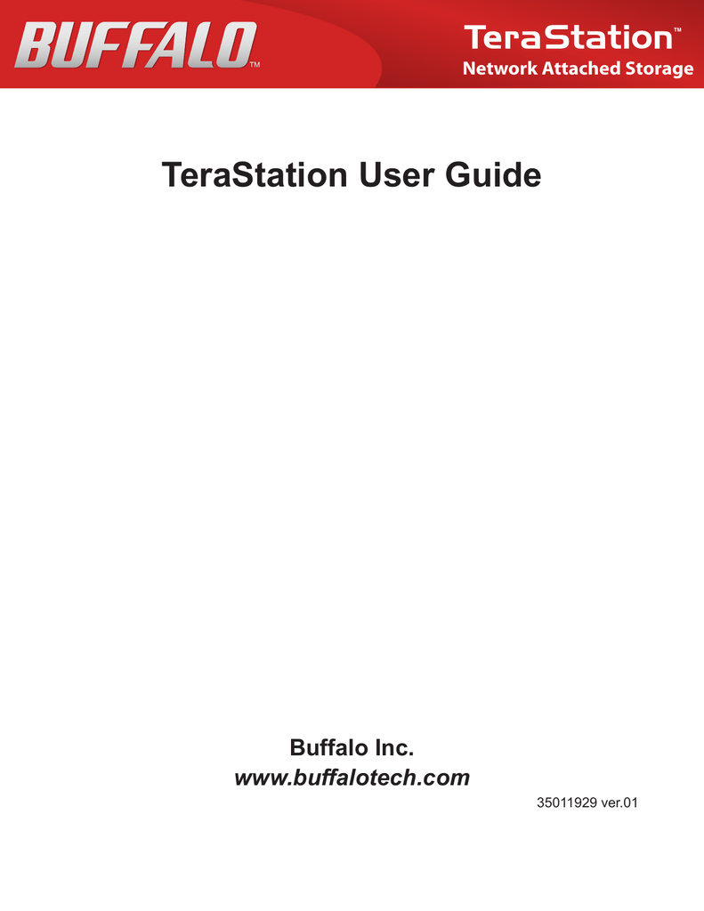TeraStation User Guide