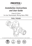 Installation Instructions and User Guide