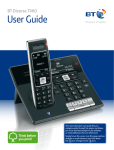 BT Diverse 7460 User Guide - Home