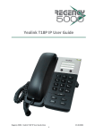 Yealink T18P IP User Guide
