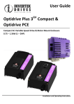 User Guide Optidrive Plus 3 Compact & Optidrive