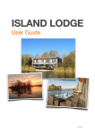 User Guide (Pages version) - Island Lodge, a Lakes by yoo rental