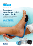 Premium muscle and joint support tape User guide
