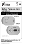 Carbon Monoxide Alarm User's Guide