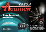 CAT3-1 User Guide Nov 06.qxp