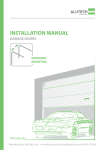 INSTALLATION MANUAL - The Garage Door King
