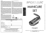 SET MANUCURE [NCW78] User Manual SPORT - Sport