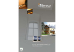 Survey & Installation Manual - Bereco Timber Windows and Doors