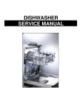 DISHWASHER SERVICE MANUAL
