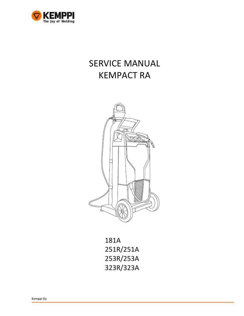 Service Manual Kempact Ra Rapid Welding And Industrial Mode Inverter Arc Welder Schematic On Igbt