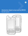 MC55 User Guide [Spanish] (P/N 72E-108859