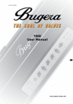 BUGERA 1960 User Manual