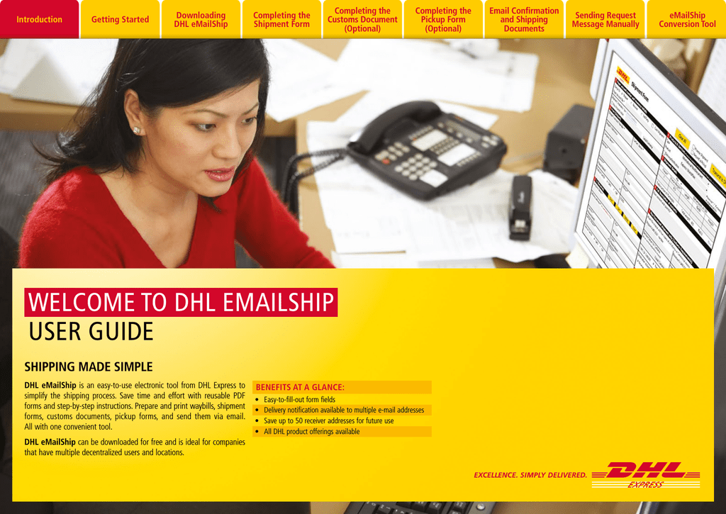 welcome to dhl emailship user guide rh manualzilla com BVI Welcome Guide Welcome Banner