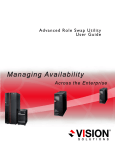 User Guide Advanced Role Swap Utility