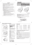 XE-A207W/B/A217W/B Operation-Manual User-Guide FR