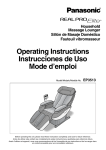 Operating Instructions Instrucciones de Uso Mode d'emploi
