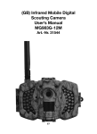 (GB) Infrared Mobile Digital Scouting Camera User's Manual