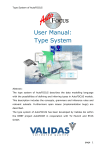 User Manual: Type System - Software and Systems Engineering