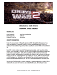 CINESAMPLES, LLC - DRUMS OF WAR 2 USER MANUAL AND