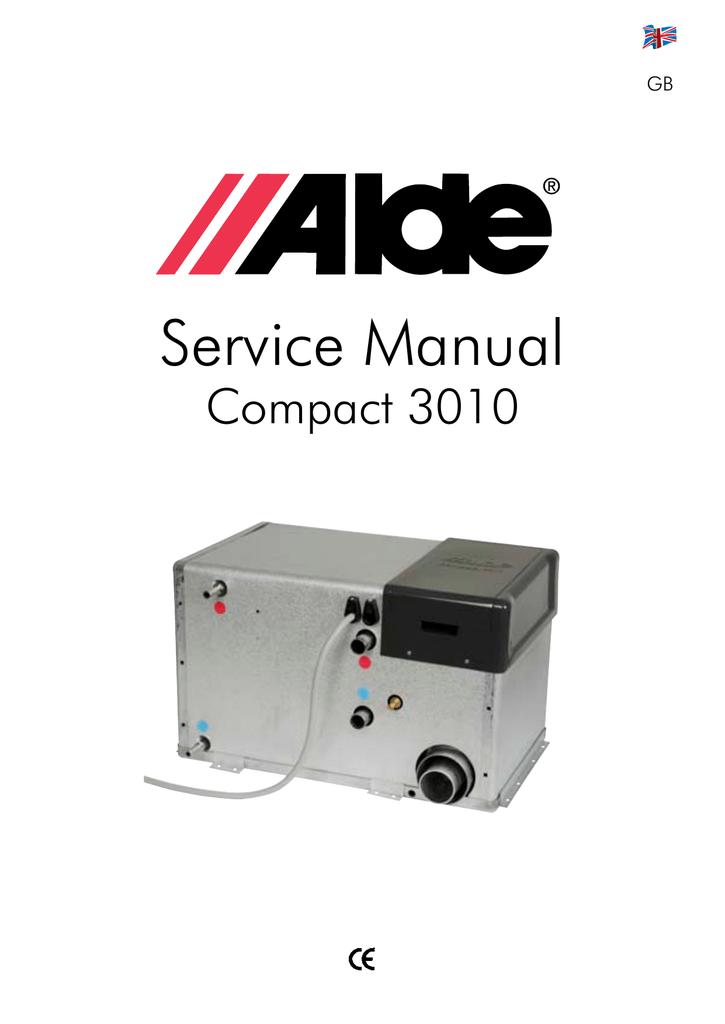 Alde compact 3000 94x manuals.