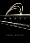 Ondes User Guide