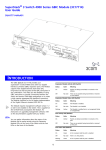 SuperStack 3 Switch 4900 Series GBIC Module User Guide