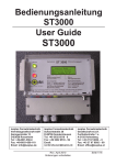 Bedienungsanleitung IPS-ST3000 / User Guide IPS-ST3000