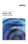 IP Phone 1140E Call Center User Guide