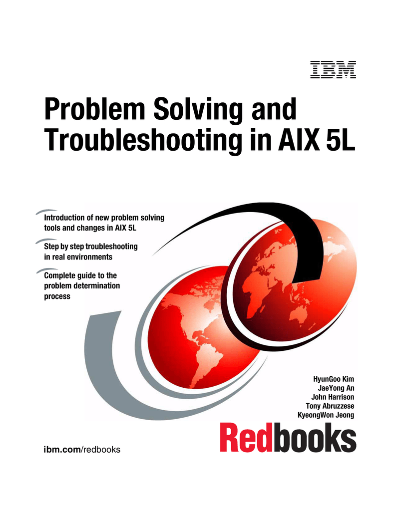 Problem Solving and Troubleshooting in AIX 5L