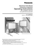 KX-BP800 Operating Instructions - Support