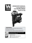 WEN 61782 Use and Care Manual