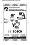 Bosch 16186 Use and Care Manual