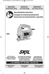 Skil 4295-01 Use and Care Manual