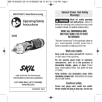 Skil 2350-01-RT Use and Care Manual