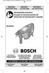 Bosch RH432VCQ Use and Care Manual